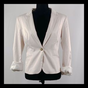 H&M Cropped Blazer Jacket SZ 14